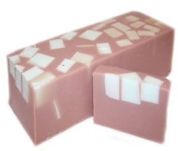 Mint Choc Chunks Handmade Soap