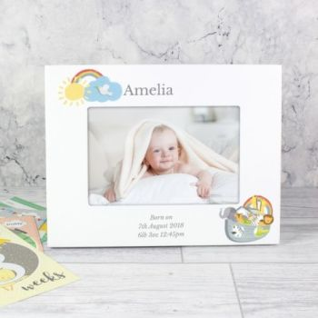 Personalised Noah's Ark Photo Frame