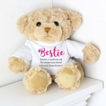 Personalised BESTIE Teddy Bear