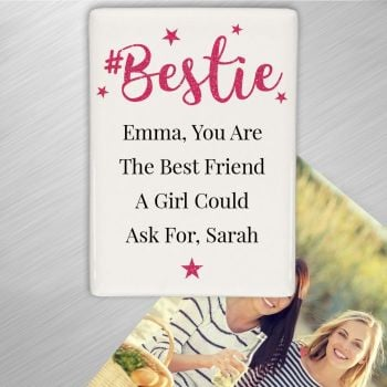 Personalised BESTIE Fridge Magnet