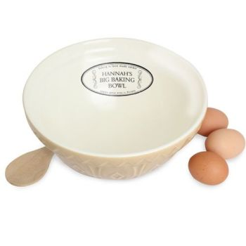 Personalised Big Baking Bowl Baking Bowl