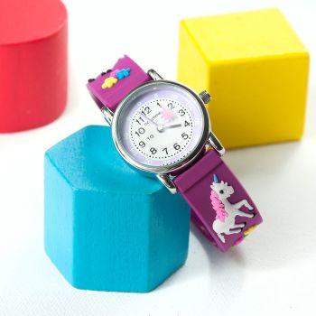 Personalised Kids Unicorn Watch