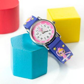 Personalised Kids Ballerina Watch