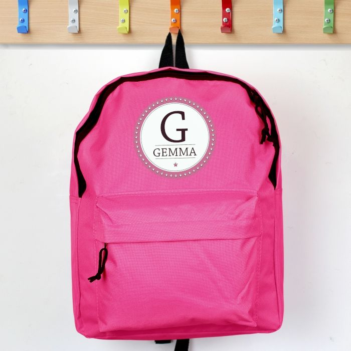 Personalised STAR Theme School Bag / Rucksack