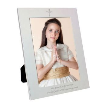 Personalised CROSS 5x7 Photo Frame