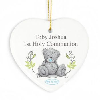 Personalised TATTY TEDDY Hanging Heart