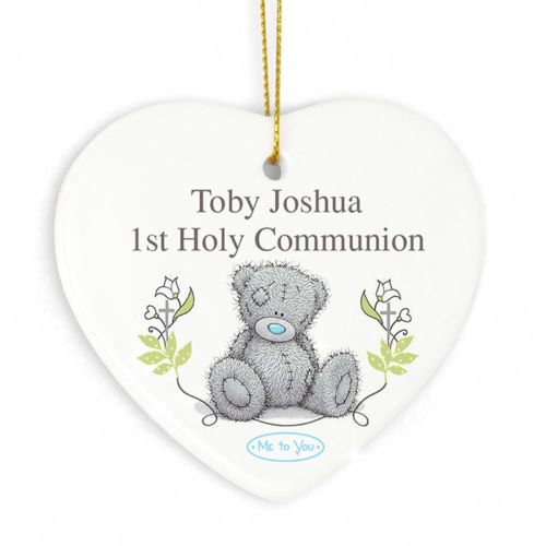 Personalised TATTY TEDDY Hanging Heart