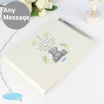 Personalised TATTY TEDDY Guest Book