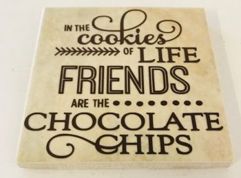 Cookies of Life Rustic Tile Coaster(s)