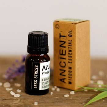 10ml Less Stress Essential Oil Blend - Inc FREE P&P