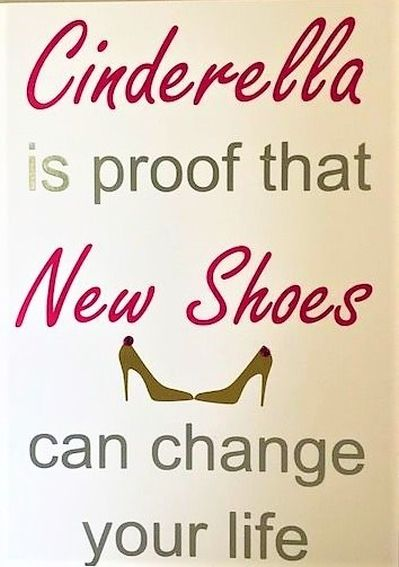 New Shoes Can Change Your Life Card - Handmade Greeting Card