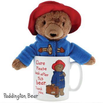 Personalised Paddington Mug with Paddington Bear