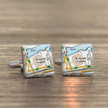 MIDDLESBROUGH Football Ground Cufflinks - Riverside Stadium