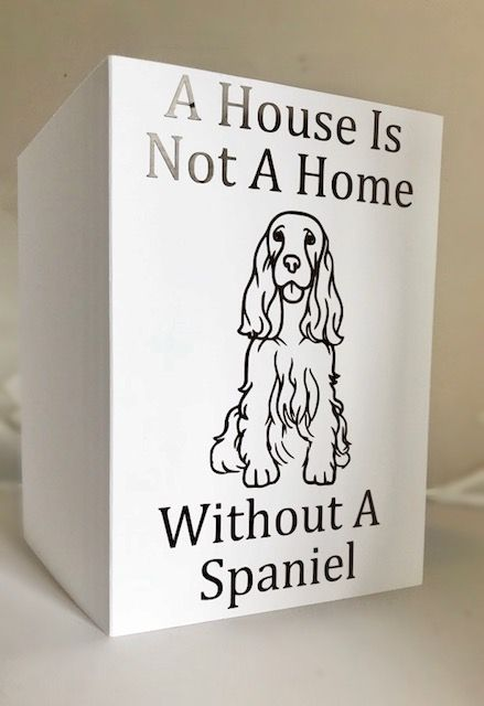 A House Without A Dog ....Card Any Dog Breed  - Handmade Greeting Card