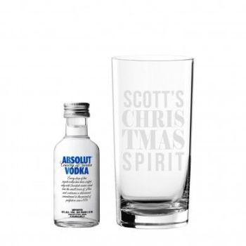 Personalised Christmas Spirit Gift Set