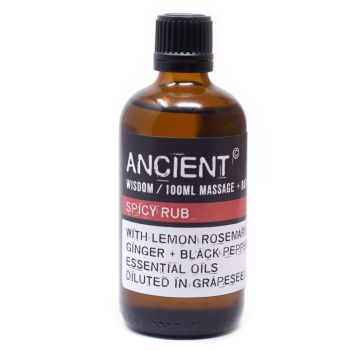 Spicy Rub Massage Oil - 100ml