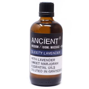 Sleepy Lavender Massage Oil - 100ml