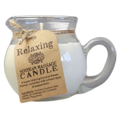 Relaxing Soybean Massage Candle