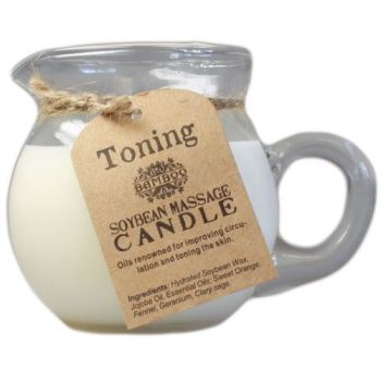 Toning & Firming Soybean Massage Candle