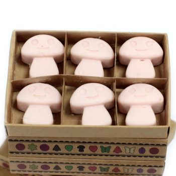 Box of 6 Dark Sandalwood Luxury Soy Wax Melts