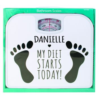 Personalised Diet Starts Today Bathroom Scales