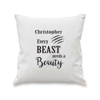 Personalised Every Beast Cushion Cover