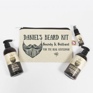 Personalised Beardy & Brilliant Beard Kit