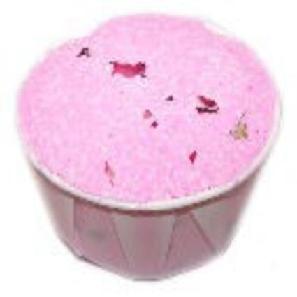 RELAXING ROSE BATH BOMB SOUFFLE