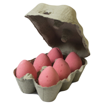 6 x Cherry Bath Bomb Eggs