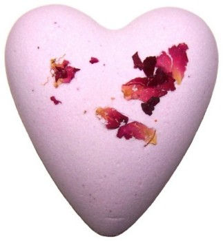 Megafizz Bath Bomb Heart - Rose