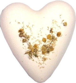 Megafizz Bath Bomb Heart - Chamomile & Honey