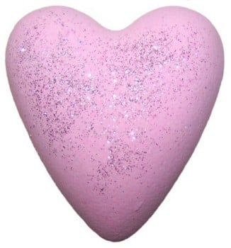 Megafizz Bath Bomb Heart - Jasmine Wings