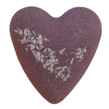 Megafizz Bath Bomb Heart - After Dark Chocolate