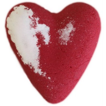Megafizz Bath Bomb Heart - Eve - Red