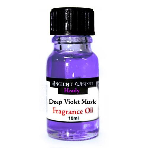 Deep Violet Musk - 10ml Fragrance Oil