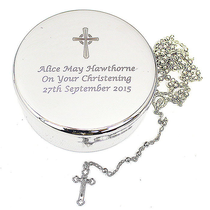 Personalised Rosary Beads & Cross