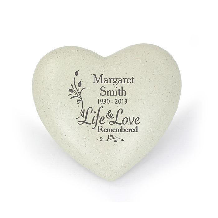 Personalised Grave Memorial - Life & Love