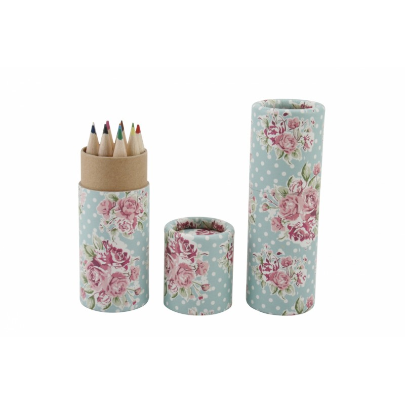 Personalised Posy Pencil Pot - Personalised Colouring Pencils