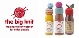 Joining in The Big Knit campaign