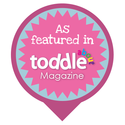 As seen in Toddle About Magazine