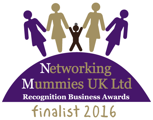 Finalist in the Networking Mummies Business Awards 2016