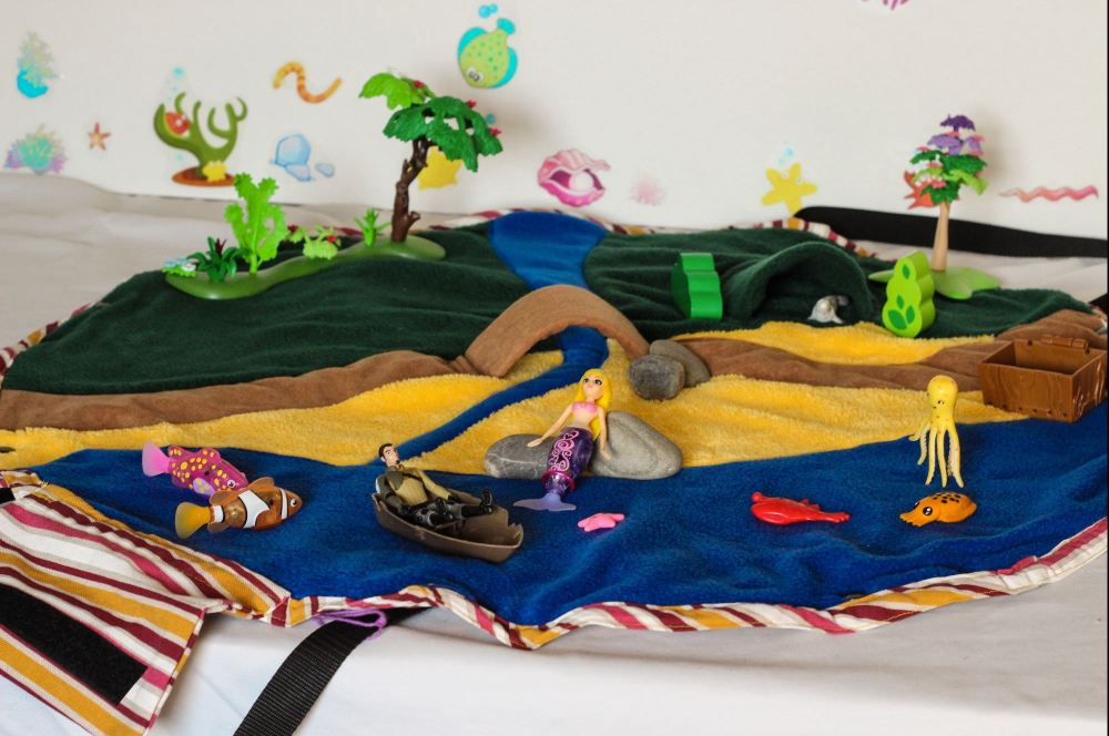 the little mermaid_beach playbag