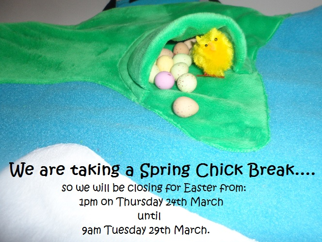 Closed for Easter Holidays