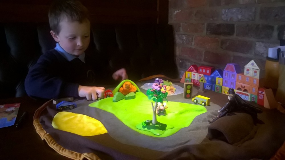 testing the new playbag park