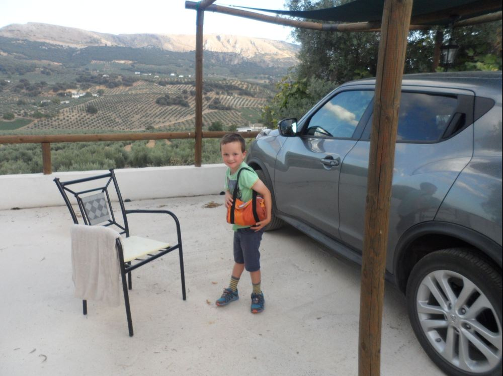 ready for a spanish adventure with the emergency playbag mini in tow