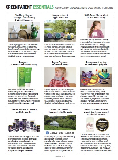In Green Parent Essentials page
