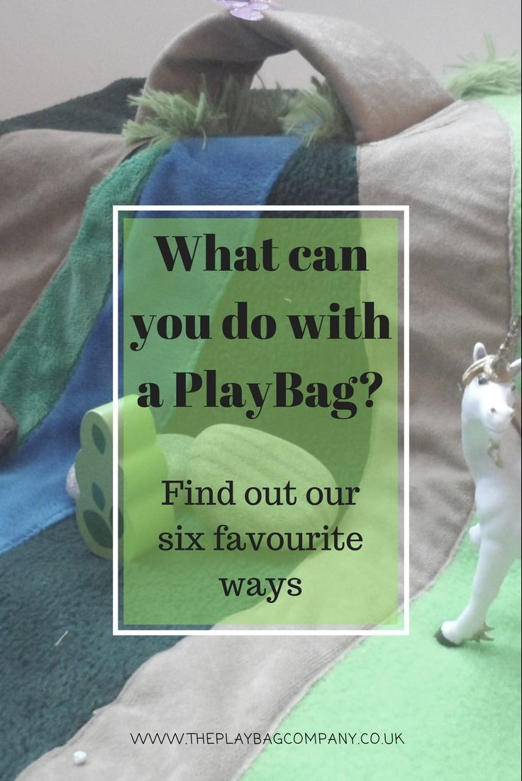 Six ways with one PlayBag