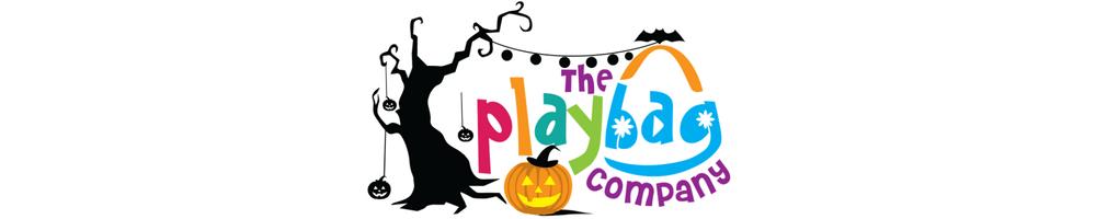 halloween logo banner