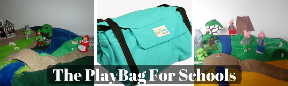 The PlayBag is an ideal resource for schools - bringing story time to life.