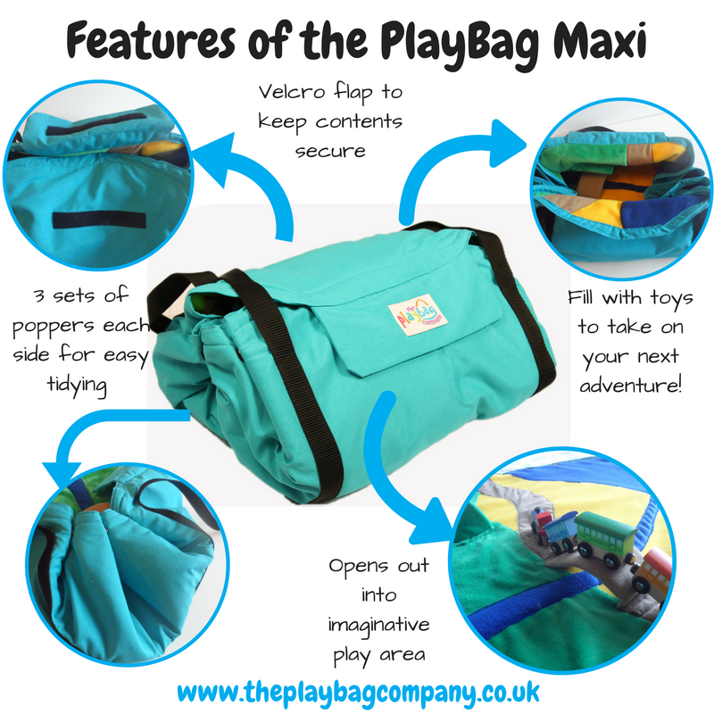 Features of the PlayBag maxi